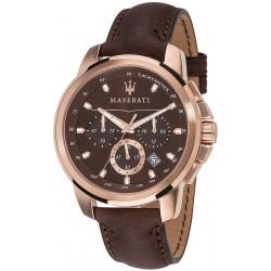 Buy Men's Maserati Watch Successo R8871621004 Quartz Chronograph
