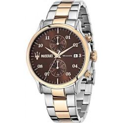 Buy Men's Maserati Watch Epoca R8873618001 Quartz Chronograph