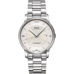 Buy Men's Mido Watch Baroncelli III COSC Chronometer Automatic M0104081103700