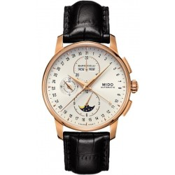 Buy Men's Mido Watch Baroncelli II Chronograph Moonphase Automatic M86073M142