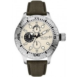 Buy Men's Nautica Watch BFD 100 A15108G Multifunction