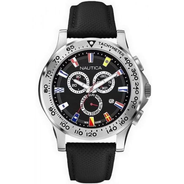 Buy Men's Nautica Watch NST 600 Flag A19595G Chronograph