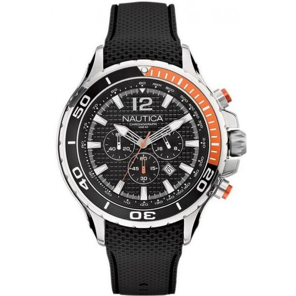 Buy Men's Nautica Watch NST 02 A21017G Chronograph
