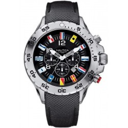 Buy Men's Nautica Watch NST Flag A24520G Chronograph
