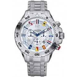 Men's Nautica Watch NST Flag A29513G Chronograph