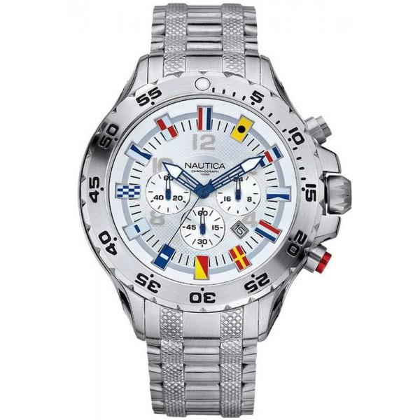 Buy Men's Nautica Watch NST Flag A29513G Chronograph