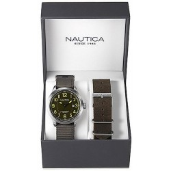 Men's Nautica Watch NCC 01 Date Box Set NAI12525G