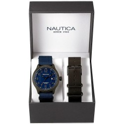 Men's Nautica Watch NCC 01 Date Box Set NAI14519G
