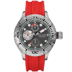 Buy Men's Nautica Watch BFD 100 NAI15007G Multifunction