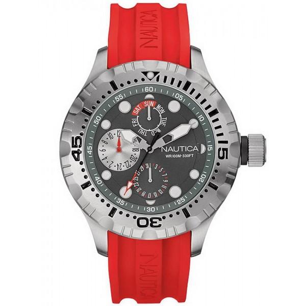 Buy Men's Nautica Watch BFD 100 NAI15007G Multifunction
