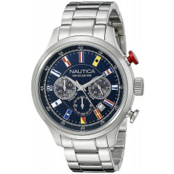 Buy Men's Nautica Watch NCT Flag NAI17516G Chronograph