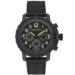 Buy Men's Nautica Watch NMS 01 USS NAI21006G Chronograph