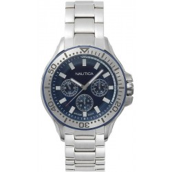 Buy Men's Nautica Watch Auckland NAPAUC001BR Multifunction