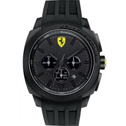 Buy Men's Scuderia Ferrari Watch Aerodinamico Chrono 0830114