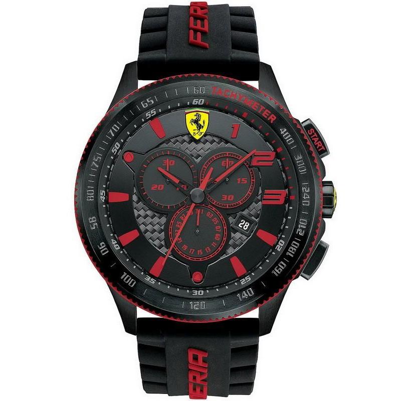Men S Scuderia Ferrari Watch Xx Chrono 0830138 Crivelli Shopping
