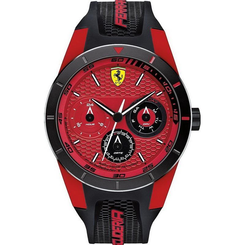 Men S Scuderia Ferrari Watch Red Rev T 0830255 Crivelli Shopping