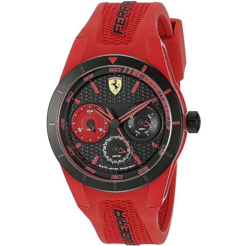 Men S Scuderia Ferrari Watch Red Rev T 0830258 Crivelli Shopping
