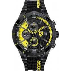 Buy Men's Scuderia Ferrari Watch Red Rev Evo Chrono 0830261