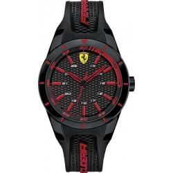 Buy Men's Scuderia Ferrari Watch Red Rev 0840004