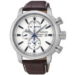 Buy Men's Seiko Watch Neo Sport Alarm Chronograph Quartz SNAF51P1