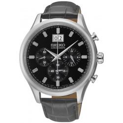 Men's Seiko Watch SNDG57P1 Quartz Chronograph Crivelli