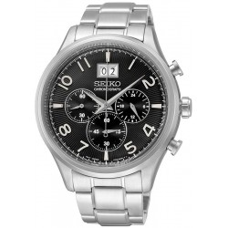 Men's Seiko Watch Neo Sport SSB177P1 Chronograph Quartz