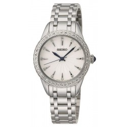 Buy Women's Seiko Watch Swarovski Crystals SRZ385P1 Quartz