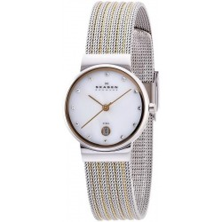 Buy Women's Skagen Watch Ancher 355SSGS Mother of Pearl