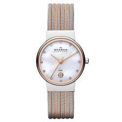Buy Women's Skagen Watch Ancher 355SSRS Mother of Pearl