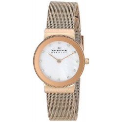 Buy Women's Skagen Watch Freja 358SRRD Mother of Pearl