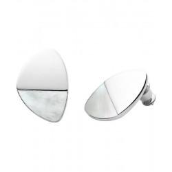 Buy Womens Skagen Earrings Agnethe SKJ1297040 Mother of Pearl