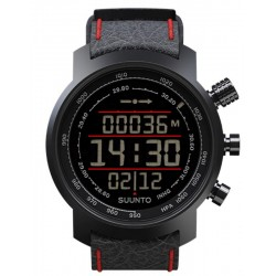 Suunto Elementum Terra Black / Red Leather Men's Watch SS019171000