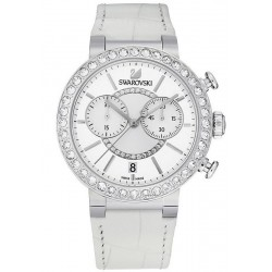 Buy Women's Swarovski Watch Citra Sphere Chrono White 5027127 Chronograph