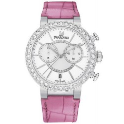 Buy Women's Swarovski Watch Citra Sphere Chrono Pink 5096008 Chronograph