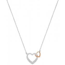 Buy Women's Swarovski Necklace Dear Small 5156815 Heart