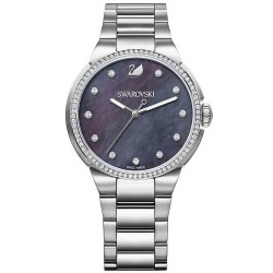 Buy Women's Swarovski Watch City Grey 5205990 Mother of Pearl