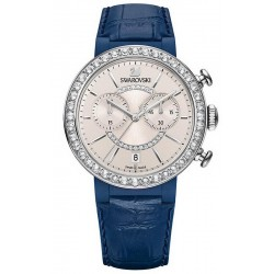 Buy Women's Swarovski Watch Citra Sphere Chrono Blue Gray 5210208