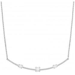 Women's Swarovski Necklace Gray 5272361