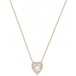Women's Swarovski Necklace Sparkling Dance Heart 5284188