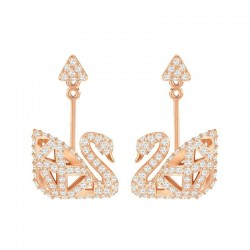 Buy Women's Swarovski Earrings Facet Swan 5358058