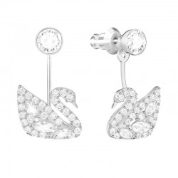 Buy Women's Swarovski Earrings Jackets Swan Lake 5379944