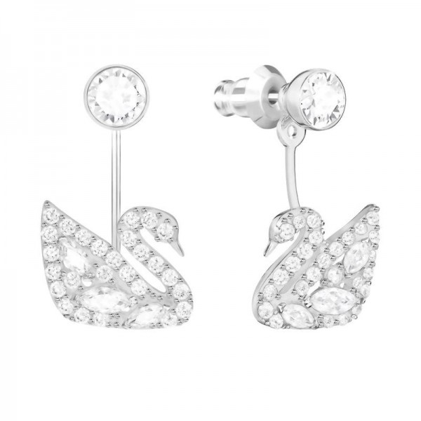 Buy Women's Swarovski Earrings Jackets Swan Lake 5379944