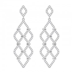 Buy Women's Swarovski Earrings Chandelier Lace 5382358