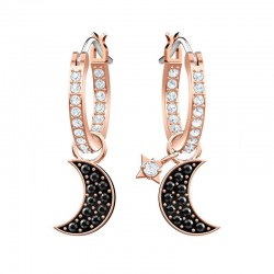 Buy Women's Swarovski Earrings Duo Moon 5440458