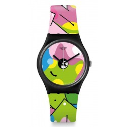 Buy Women's Swatch Watch Gent Image Of Graffiti GB317