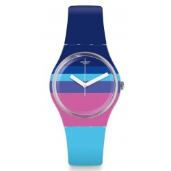 Women's Swatch Watch Gent Azul'Heure GE260