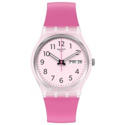 Women's Swatch Watch Gent Rinse Repeat Pink GE724