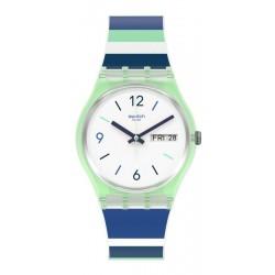 Unisex Swatch Watch Gent Sky Zebra GG711