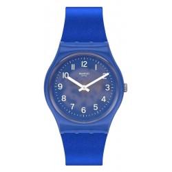 Unisex Swatch Watch Gent Blurry Blue GL124