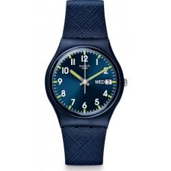 Unisex Swatch Watch Gent Sir Blue GN718